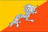 Drapeau du  Bhoutan