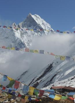 Sanctuaire des Annapurnas : Népal
