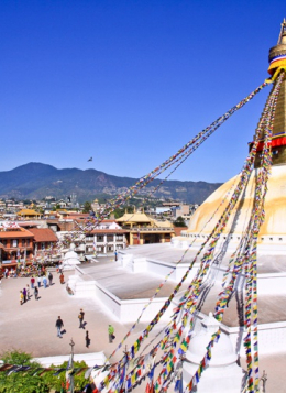Zénitude aux Annapurnas avec L. Ameu : Népal