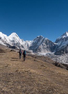 Kala Pattar, au plus près de l'Everest : Népal