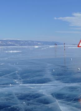 Aventures sur le lac Baïkal gelé : Russie