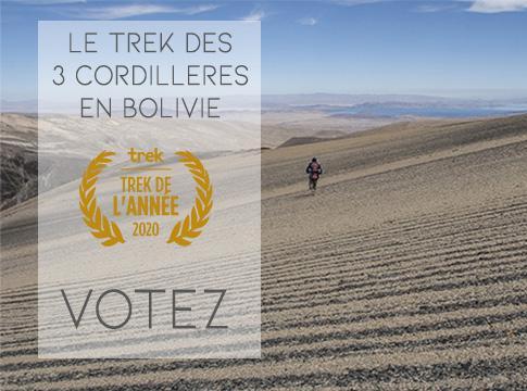 Actualité Tirawa : Trek de l'année : A vos votes !