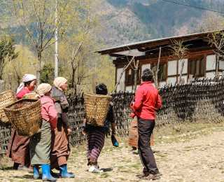 Randos Bhoutanaises : Bhoutan