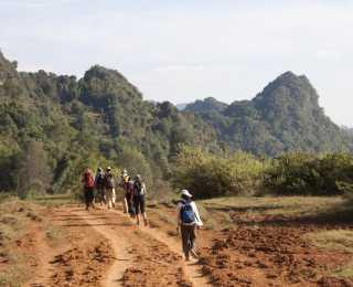 Rando chez les Paos : Birmanie