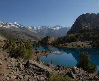 Dômes de neige et de turquoise : Ouzbékistan