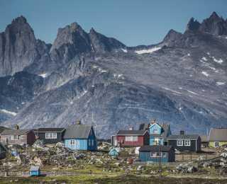 Montagnes et Fjords du Groenland Sud : Groenland