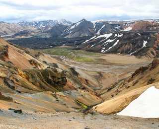 Volcans et Glaciers d'Islande : Islande