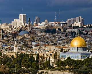 De Pétra à Jérusalem : Jordanie