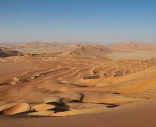 Dhofar, du Désert du Rub al Khali à l'Océan Indien : Oman
