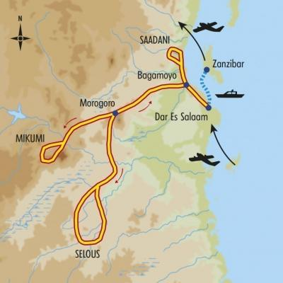 Itinéraire du voyage Trésors du Sud Tanzanien - Tanzanie - Tirawa