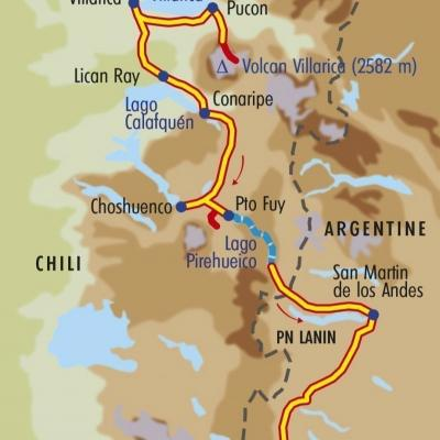 Itinéraire du voyage Secrets du Grand Sud - Chili - Tirawa