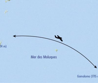 Itinéraire du voyage Trek des Volcans, de Sulawesi aux Moluques - Indonésie - Tirawa