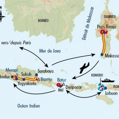 Itinéraire du voyage Grand Tour d'Indonésie - Indonésie - Tirawa