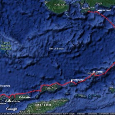 Itinéraire du voyage Croisière des Iles Oubliées, de Flores à Banda - Indonésie - Tirawa