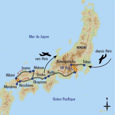 Itinéraire du voyage Le Printemps au Japon - Japon - Tirawa
