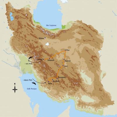 Itinéraire du voyage Au coeur de l'Iran - Iran - Tirawa
