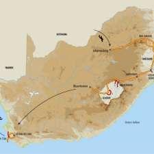Itinéraire du voyage Grand Tour de l'Afrique du Sud - Afrique Du Sud - Tirawa