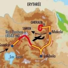 Itinéraire du voyage Grands Treks en Ethiopie - Éthiopie - Tirawa