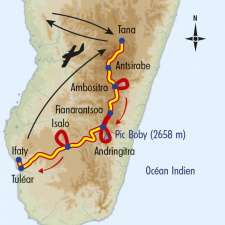 Itinéraire du voyage Trek et Rencontres à Madagascar - Madagascar - Tirawa