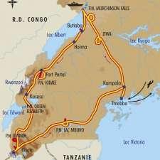 Itinéraire du voyage Volcans, Lacs et Gorilles d'Ouganda - Ouganda - Tirawa