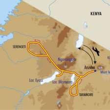Itinéraire du voyage Faune et Savane de Tanzanie - Tanzanie - Tirawa