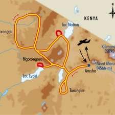 Itinéraire du voyage Balade et Safari en Tanzanie - Tanzanie - Tirawa