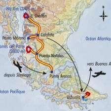 Itinéraire du voyage Intense Patagonie - Argentine - Tirawa