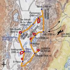 Itinéraire du voyage Altiplano Secret - Argentine - Tirawa