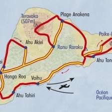 Itinéraire du voyage Grand Tour de l'île de Pâques - Chili - Tirawa