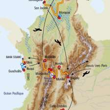 Itinéraire du voyage Trésors de Colombie - Colombie - Tirawa