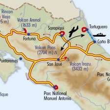 Itinéraire du voyage Saveurs Costariciennes - Costa Rica - Tirawa