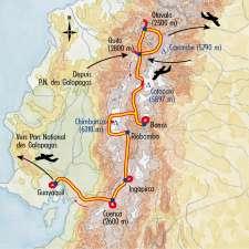 Itinéraire du voyage Des Andes aux Galapagos - Équateur - Tirawa