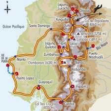 Itinéraire du voyage Le Grand Tour de l'Equateur - Équateur - Tirawa