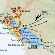 Itinéraire du voyage Balade au Nicaragua - Nicaragua - Tirawa