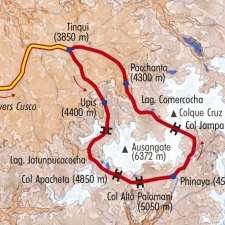 Itinéraire du voyage Tour de l'Ausangate - Pérou - Tirawa