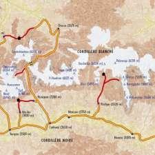 Itinéraire du voyage Randos dans la Cordillère Blanche - Pérou - Tirawa