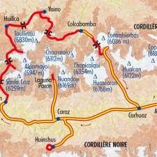 Itinéraire du voyage Tour de l'Alpamayo - Pérou - Tirawa