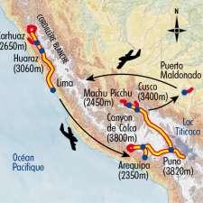 Itinéraire du voyage Grand Tour du Pérou - Pérou - Tirawa