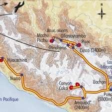 Itinéraire du voyage Les Cités d'Or - Pérou - Tirawa