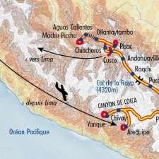 Itinéraire du voyage Balade au Pérou - Pérou - Tirawa