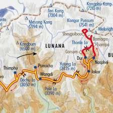 Itinéraire du voyage Trek insolite au Bhoutan - Bhoutan - Tirawa