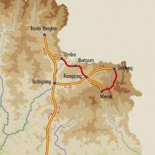 Itinéraire du voyage Brokpas et monastères de l'Est bhoutanais - Bhoutan - Tirawa