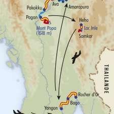 Itinéraire du voyage Découverte de la Birmanie - Birmanie - Tirawa