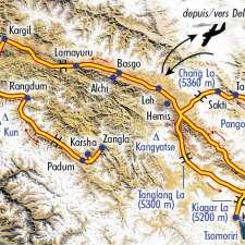 Itinéraire du voyage Grand Tour du Ladakh Zanskar - Inde - Tirawa