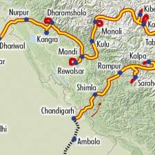 Itinéraire du voyage Grand Tour du Spiti, Kinnaur - Inde - Tirawa
