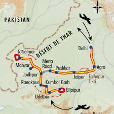 Itinéraire du voyage Rajasthan, Festival de Pushkar - Inde - Tirawa