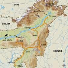 Itinéraire du voyage L'essentiel des 7 Sisters - Inde - Tirawa