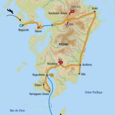 Itinéraire du voyage Volcans et Onsen de Kyushu - Japon - Tirawa