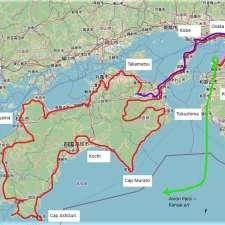 Itinéraire du voyage Le pèlerinage des 88 Temples de Shikoku - Japon - Tirawa
