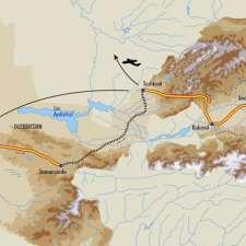 Itinéraire du voyage Du Pamir à Samarcande - Kirghizie - Tirawa